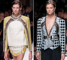 Paris Fashion Week 2013: Balmain's 1990s redux - Los Angeles Times