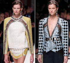 Paris Fashion Week 2013: Balmain's 1990s redux - Los Angeles Times