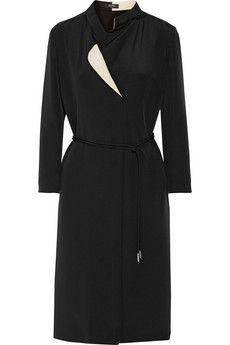 Etro Two-tone silk dress | THE OUTNET
