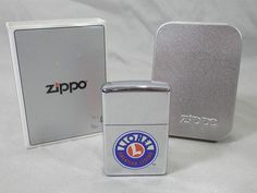 Lionel American Legend Zippo Lighter Train Logo with Box 250LT - NEVER USED