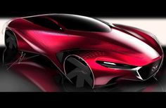 «#car #carlover #carsketch #mazda#design#designers #automotivedesign»