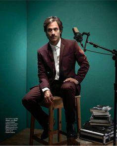 Gael Garcia Bernal Covers Icon Magazine