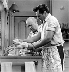 I Love Lucy #Retro Kitchen Ricky and Fred can handle it!