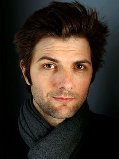 Adam Scott - reminds me of a guy I had a crush on in high school MJB