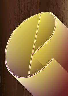 letra E #typography #tipografia #letter www.marcusso.art.br