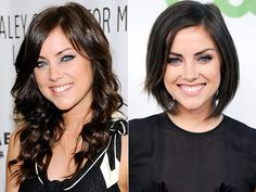 jessica stroup has the best hair, wish i had her hair..and eye color
