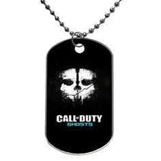 Dog Tag Oval Aluminum Call Of Duty Ghosts OKking DIY ID Tag Dog Tag Pet Tag ID Necklace Pendant 133 x 22 X 0239 inches * Learn more by visiting the image link.