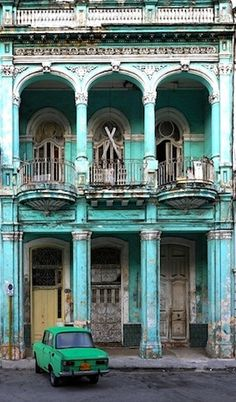 Old Cuban glory #travel #Cuba  ...which directly influences Veracruz (port city) in the state of Veracruz in Mexico. Looks magical. @MondoTechnoir