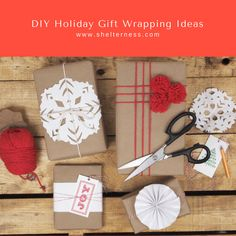 DIY Holiday Gift Wrapping Ideas - Grab your supplies, pop in a movie and make a bunch all at once to use throughout this season! #holidaygifts #holidaycraft #diygiftwrapping #diy #gift #christmasgift