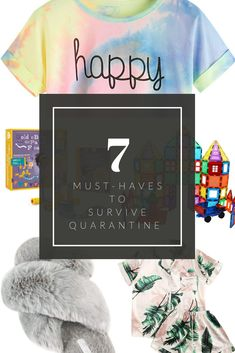 7 Must-Haves to Survive Quarantine • A Sweet Life with Style