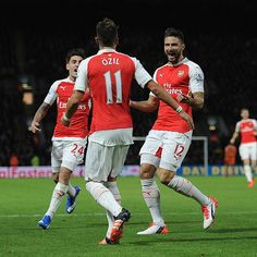 #Arsenal have won each of their last three league games by three goals. #AFC #goals #Gunners