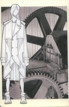 ///Alexandre Plokhov FW 2011 Inspiration and Sketches