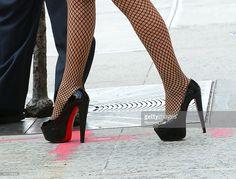 Photo d'actualité : Singer Mariah Carey is seen walking in Soho on...