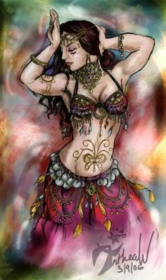 Arte Tribal, Tribal Belly Dance, Tribal Fusion, Bd Art, Belly Dancing Classes, Belly Dance Costumes, Dance Fashion, Arabian Nights, Belly Dancers