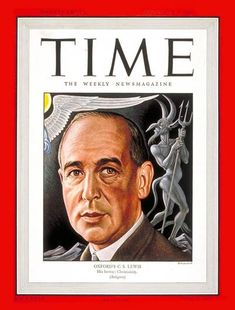 Lewis: purely intellectual + rational + faithful, author of Mere Christianity, Chronicles of Narnia, to name a few (Time Magazine, Sept. Joy Davidman, Mere Christianity, People Of Interest, Time Magazine, Magazine Covers, Cs Lewis, Images Google, Narnia, New Books