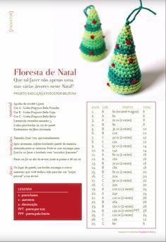 Amigurumi e companhia: Floresta de Natal