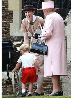 Prince George's nanny is basically Mary Poppins – and we're obsessed!