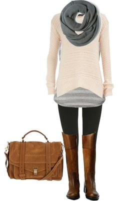 """chilly day"" by bradierenee ❤ liked on Polyvore"
