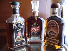 Great Cuban Rums.