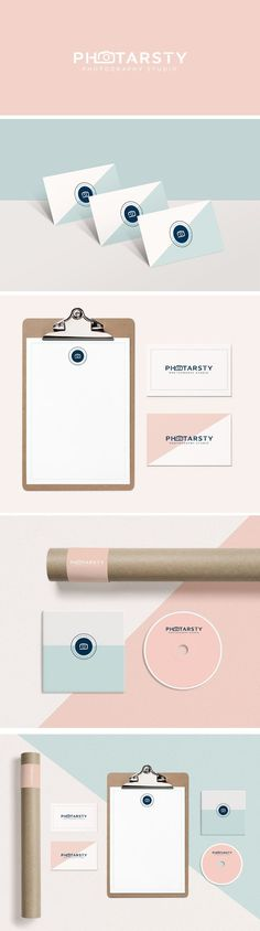 Photarsty Branding Identity Design. graphic design, branding, photography branding, logo design, feminine design, web design, blog design, #graphicdesign, #designinspiration, #branding, #logodesign #brandingidentity