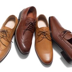 ...choose your shoes wisely. Our dress shoes for Fall will have you looking dapper from boardroom to after 5.