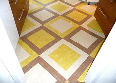 flooring marmoleum pattern --- really liking this one!