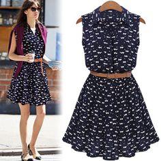 Aliexpress.com: Comprar Verano 2015 moda de nueva para camisas de vestido gato huellas patrón mostrar vestido de camisa fina ocasionales vestidos con cinturón de Vestidos para caderas anchas fiable proveedores en 777 Trading