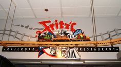 Fritz's Railroad Restaurant- Kansas City  This was the most unique dining experience of my life so far.