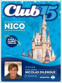 Cliente: Club 15 Trabajo: diseño de credenciales