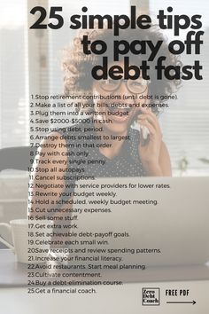 Getting out of debt can be complicated and overwhelming. It doesn't need to be, though. It's kind of like eating an elephant, one bite at a time. But, breaking it down into micro-steps and focusing on one thing at a time will help you to minimize the overwhelm that comes with the territory. Ways To Save Money, Money Tips, Money Saving Tips, Budgeting Process, Budgeting Tips, Living On A Budget, Frugal Living, Financial Tips, Financial Planning