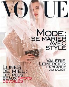 Top Model Vittoria Ceretti is the Cover Girl of Vogue Paris May 2017 Issue