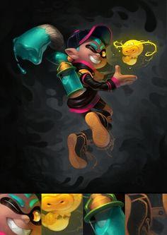 Splatoon inkling boy
