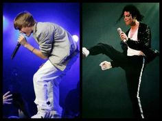 Now, I know Michael Jackson was all about love, but this is funny to me:)