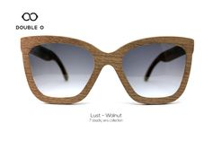 Lust - Walnut / Handmade Wooden Sunglasses / Made in Crete,Greece Wooden Sunglasses, 7 Deadly Sins, Crete Greece, Handmade Wooden, Lust, Shopping, Collection