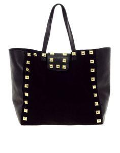 Studded shopper bag // asos