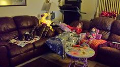 Nici's Chatter Box: Not a creature was stirring...