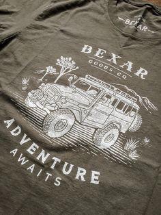 Landcruiser Adventure 4x4 T-shirt