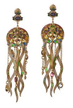 Diego Percossi Papi Meduse earrings from Talisman Gallery, London