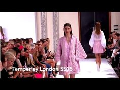 ▶ Watch the Temperley London catwalk show for spring/summer 2015. #Fashion is GREAT Britain!