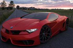 Una vision de un posible BMW GT M1 del 2012. Porque no la habran sacado?