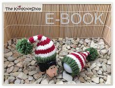 Anleitung E-Book Eierwärmer Weihnachtswichtel von The KnitKnotShop auf DaWanda.com