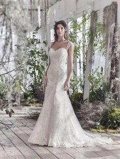 Awesome Maggie Sottero Designer Wedding Dresses Devon Frilly Frocks starting from