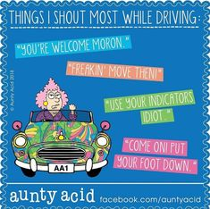 Aunt Acid, All Things Purple, Getting Old, Minions, Humor, Words, Funny, Auntie, Hummingbird