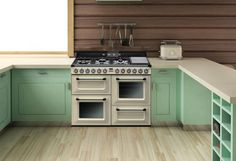The SMEG Victoria - vintage style freestanding oven.
