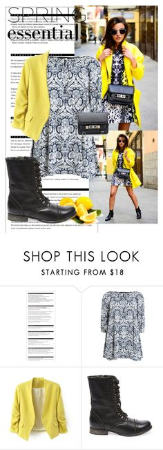 """""""Sunny afternoon"""" by shay-segev ❤ liked on Polyvore featuring Arche, AX Paris, Steve Madden and Proenza Schouler"""