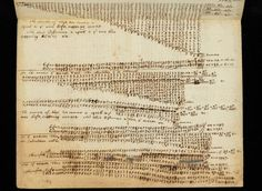 An uploaded manuscript of calculations by Sir Isaac Newton is among 4,000 pages worth of the genius's most famous work put online by the University of Cambridge.