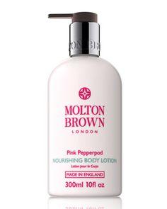 MB Molton Brown Pink Pepperpod Body Lotion, 3.3 oz no pump, twist cap New