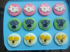 Woezel en Pip Cupcakes
