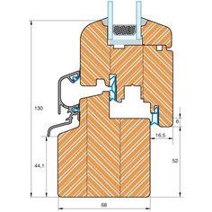 Holzfenster ROUNDLINE 68 Schnittzeichnung Timber Windows, Wooden Windows, Windows And Doors, Window Seal, Joinery Details, Modular Structure, Timber Furniture, Wood Detail, Round House