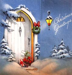 Another pretty Christmas doorway